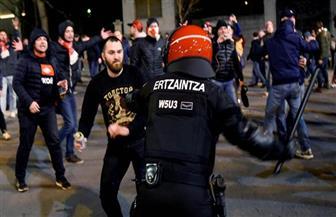 وفاة ضابط شرطة إسباني بعد اشتباك مع جماهير في مباراة لكرة القدم