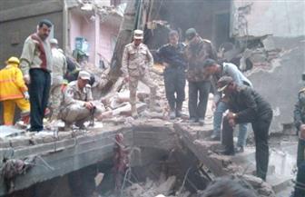 8 ساعات تحت الأنقاض.. تفاصيل إنقاذ سكان عقار منشأة ناصر المنهار كاملة   صور
