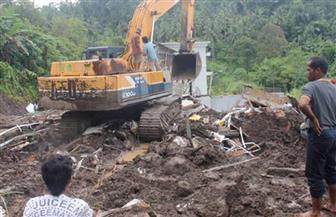 ارتفاع حصيلة الوفيات جراء انهيار أرضي في إندونيسيا إلى سبعة