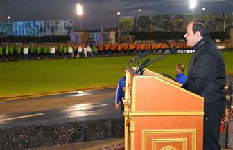 الرئيس السيسي: مواجهة قوى الشر لا تقتصر على سيناء فقط