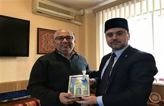 """""""الإسلامي الأوربي"""" يدعو """"مفتي روسيا"""" لحضور المؤتمر العالمي للأقليات المسلمة في  أبوظبي"""
