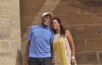خلال زيارته معبد فيلة.. داني جلوفر: كلما زرت مصر أجد هدية مميزة | صور