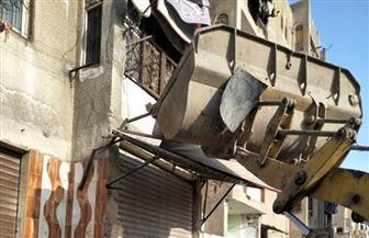 جهاز مدينة 6 أكتوبر يستكمل حملة إزالة الإشغالات والمخالفات