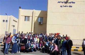 المشاركون بالمؤتمر الدولي لتحلية المياه يتفقدون محطة اليسر لتحلية مياه البحر بالغردقة | صور