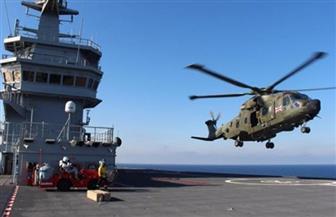 """رئيس الأركان يشهد أضخم تدريب بحري مشترك مع فرنسا بمشاركة الـ""""ميسترال"""""""