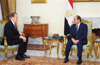 تفاصيل لقاء الرئيس السيسي بوفد الطائفة الإنجيلية الأمريكية| صور