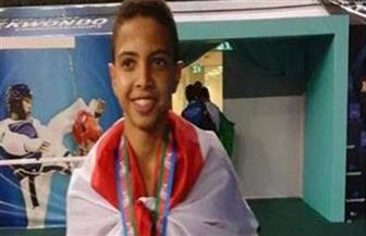 محمد فرج يضمن ميدالية ببطولة مصر الدولية للتايكوندو
