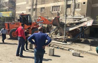 حكمدار الجيزة يقود حملة لإزالة التعديات بالسوق القديمة في 6 أكتوبر | صور