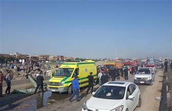 ارتفاع عدد مصابي أتوبيس الطريق الدولي بالإسكندرية لـ22 والوفيات لـ8 / صور