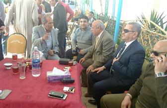 انطلاق الدعاية الانتخابية لتأييد الرئيس عبد الفتاح السيسي بكفر الشيخ
