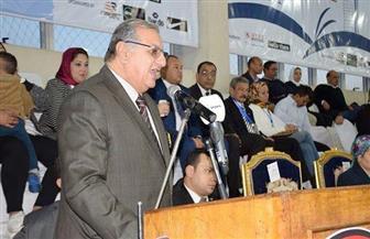 إسماعيل الفار يفتتح بطولة مصر الدولية للتايكوندو نائبا عن وزير الرياضة | صور