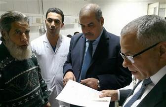 رئيس جامعة الأزهر وسلمان يتفقدان مستشفى الزهراء الجامعى
