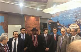 سفير مصر بصربيا يدشن رابطة المسافرين الدائمين خلال افتتاح جناح مصر في معرض بلجراد| صور