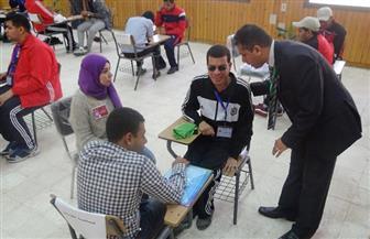 """طلاب """"متحدي الإعاقة"""" بالجامعات المصرية يشاركون فى  مسابقات نادى العلوم بجامعة المنيا"""