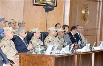 شاهد افتتاح الرئيس السيسي لعدد من المنشآت بقيادة قوات شرق القناة لمكافحة الإرهاب | فيديو