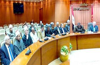 """""""الغضبان"""" يناقش استعدادات بورسعيد لمنظومة التأمين الصحي الشامل"""