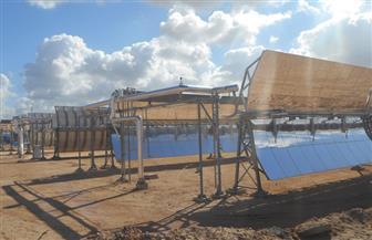 افتتاح أول محطة مركزات الخلايا الشمسية في برج العرب.. تعرف على التفاصيل   صور