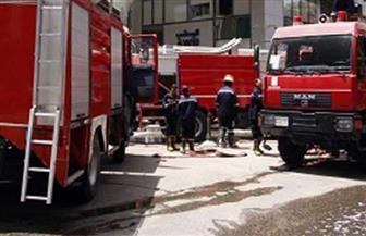 """تفحم ميكروباص تابع لـ""""تعليم المنوفية"""" داخل جراج المديرية.. والنيران تمتد لـ 4 سيارات أخرى"""