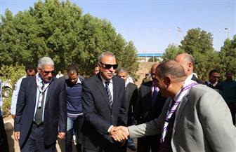 الهجان ورئيس جامعة جنوب الوادي يفتتحان المعسكر الدولي العاشر للجوالة | صور