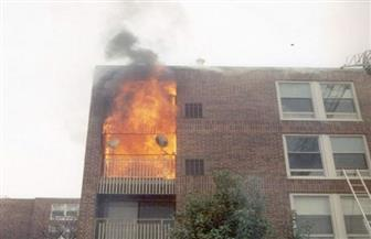 عامل يشعل النيران فى منزل شقيقه بسبب خلافات الميراث بالبحيرة