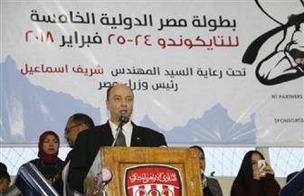 عمرو سليم: جهود هؤلاء وراء نجاح بطولة مصر الدولية للتايكوندو
