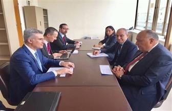 وزير الخارجية يلتقي نظيره المالطي على هامش اجتماعات الدورة 37 لمجلس حقوق الإنسان
