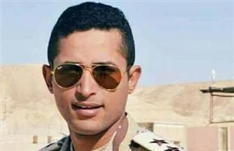 الآلاف من أهالي جنوب سيناء يشيعون جثمان الشهيد ملازم أول محمود ناجي العواد
