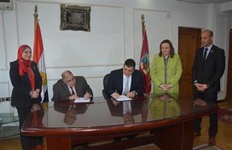 توقيع بروتوكول تعاون بين المكتبة الرقمية بجامعة الفيوم ودار الكتب | صور
