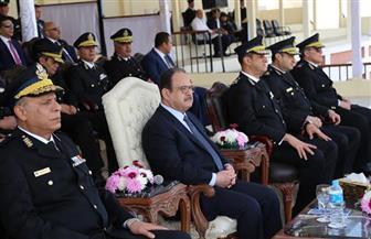 وزير الداخلية يشهد تخريج فرقة الترقي لأمناء الشرطة
