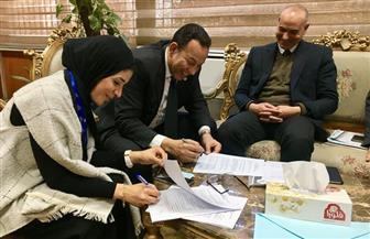 رئيس جامعة المنوفية: شراء أجهزة وحدة العلاج الإشعاعى عن قرب بمستشفى علاج الأورام   صور