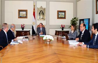 الرئيس السيسي يعقد اجتماعا لمراجعة خطة الحكومة لتنمية إقليم غرب الجمهورية