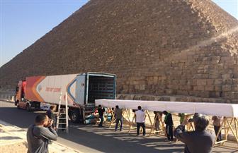 المتحف المصري الكبير يستقبل 4 قطع خشبية من مركب خوفو الثانية | صور