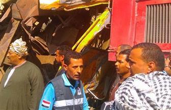 رفع حالة الطوارئ بمستشفيات طنطا والإسكندرية بعد حادث قطاري البحيرة
