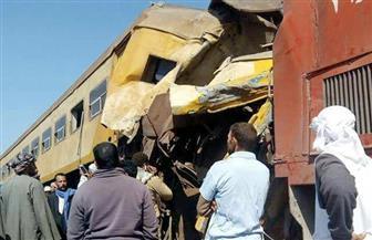 """النيابة تستدعي مسئولين بالسكة الحديد في حادث تصادم قطاري البحيرة.. وتحليل """"DNA"""" للأشلاء"""