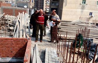 تنفيذ قرارات الإزالة لـ ٧ عقارات مخالفة بالمنتزة شرق الإسكندرية   صور