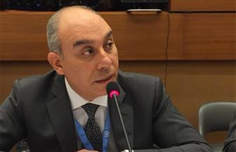 البعثة المصرية بجينيف تنظم مؤتمرا لسفراء الدول المعتمدين لدى المقر الأوروبي