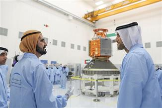 أول قمر صناعي عربي ينطلق من الإمارات