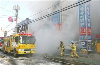 """حريق في مستشفى بـ""""سول"""".. وإجلاء 300 شخص"""