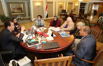 وزير التعليم العالي يبحث تطوير عمل اللجنة الوطنية المصرية لليونسكو