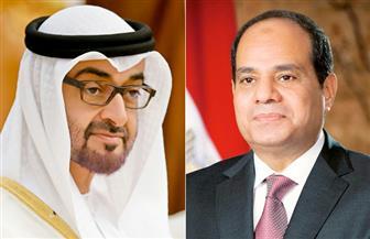 الرئيس السيسي يهنئ ولى عهد أبو ظبى بحلول عيد الفطر المبارك