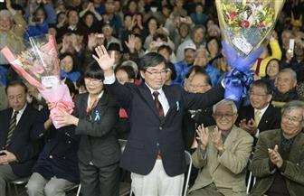 رئيس بلدية ياباني معارض لوجود قاعدة أمريكية يسعى لإعادة انتخابه في مدينة ناجو