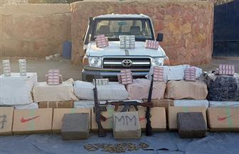 ضبط كمية من المواد المخدرة على الحدود الغربية