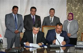 وزير التعليم العالي يشهد توقيع اتفاقية تعاون بين المركز القومي للبحوث وإحدى المزارع السمكية | صور