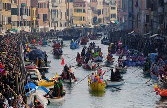 """كرنفال """"دي فينيسيا"""" يشعل مدينة العشاق الإيطالية   بالصور"""