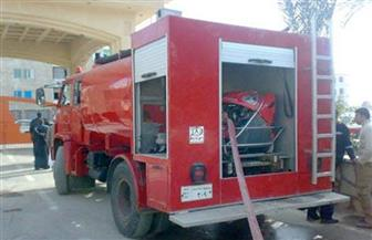 السيطرة على حريق محدود في مكتب مدير معمل هندسة الطرق بجامعة الفيوم