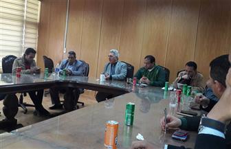 عميد إعلام بني سويف يجتمع بصحفيي وإعلاميي المحافظة| صور
