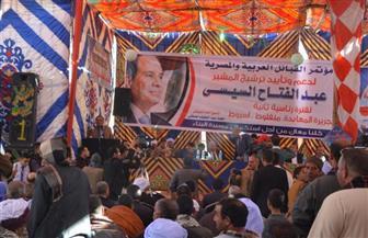 رئيس مجلس إدارة القبائل العربية والمصرية: لابد أن نكون يدا واحدة لتأييد السيسي | صور