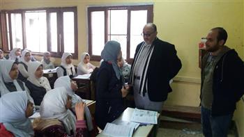 تعليم الغربية ترصد ملاحظات فنية في مدارس بطنطا وقطور | صور