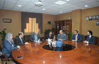 اتفاقية تعاون بين جامعة المنصورة والمركز الثقافي البريطانى لتأهيل الطلاب