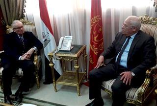 محافظ بورسعيد وسفير إيطاليا يبحثان سبل التعاون المشترك